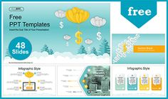 Balloon Dollar Management Concept PowerPoint Templates that fully and easily editable shape color, size, and text. Ppt Free, Powerpoint Template Free, Business Powerpoint Templates, Powerpoint Maker, Background Powerpoint, Power Points, Infographic, Finance, Balloons