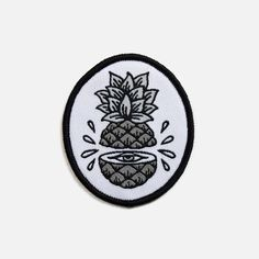 Pineapple patch via Yeaaah Studio
