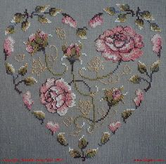 1 million+ Stunning Free Images to Use Anywhere Cross Stitch Heart, Cross Stitch Cards, Cross Stitch Flowers, Cross Stitch Embroidery, Cross Stitch Patterns, Hand Embroidery Tutorial, Bargello, Hobbies And Crafts, Needlepoint