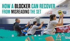 In relation to our most recent post, coaches Mark Barnard and Mike Sealy talk about two ways the middle hitters can recover from misreading the set. Check it out!