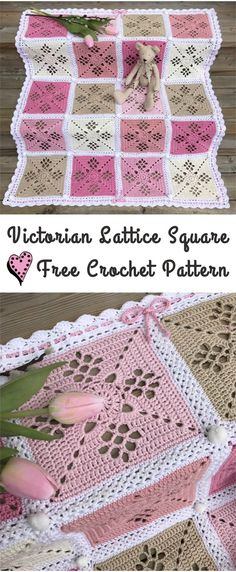 Victorian Lattice Square Crochet Pattern – Yarnandhooks