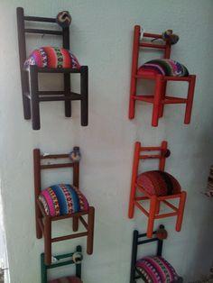 Litlle chairs. Salta ARGENTINA