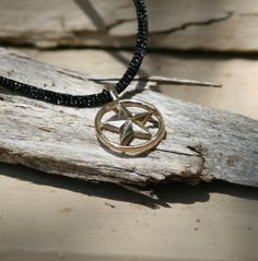 Handmade Gold Texas Star Pendant by OakTreeJewelers on Etsy, $160.00
