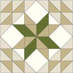 Meadow Star Block: FREE Quilt Block Pattern @ McCallsQuilting.com