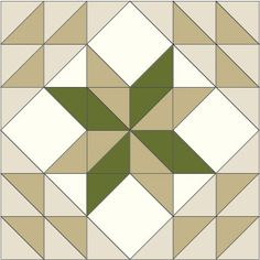 Meadow Star: FREE Quilt Block Pattern Designed by PATTI CAREY