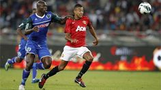 http://sportblog.co.za  Manchester United in their friendly against local PSL team AmaZulu.