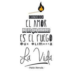 Vinilo Decorativo Texto Pablo Neruda