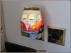 VW CAMPER NIGHT LIGHT & LAMP.. VW TYPE 2, SURFER VAN | eBay