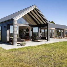 House Deck, Facade House, Steel Framing, Modern Barn House, House Property, Steel House, Steel Frame House, Pole Barn Homes, Modern Country