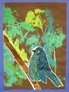 Crafty Crow bird art & crafts ideas