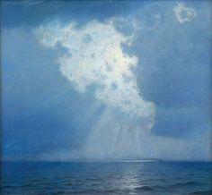 Sunburst at Sea - L. Birge Harrison (1913-14)