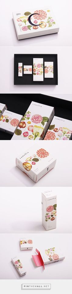 Project Charisma - Camellia cosmetic packaging