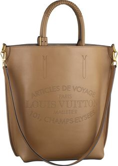 Louis Vuitton ~ Parnassea Collection Flore Bag, Noisette