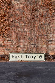 LARGE EAST TROY ROAD SIGN, WOODEN STREET SIGN, EAST TROY, WISCONSIN, HIGHWAY SIGN  Show your Wisconsin love.... East Troy?, Alpine Valley anyone?