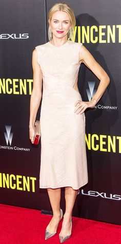 Look of the Day - October 7, 2014 - Naomi Watts in Jason Wu from #InStyle