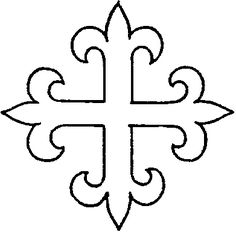 Ecclesiastical & Church Embroidery Patterns: Crosses – Needle'nThread.com