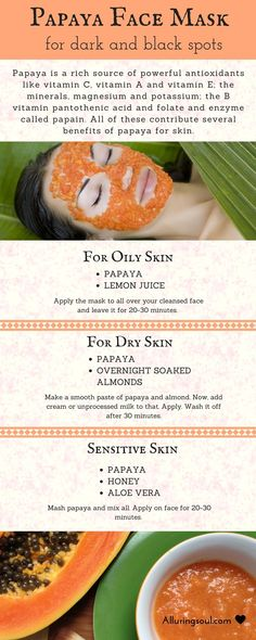 Give fruity nutrients as a superfood to your skin by applying best papaya face pack for dark and black spots which will give flawless and healthy skin.