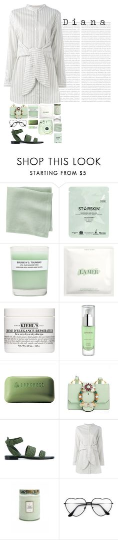 """Diana"" by fashionableforeign ❤ liked on Polyvore featuring CB2, Starskin, A.P.C., La Mer, Kiehl's, Gatineau, Borghese, Miu Miu, Paul Andrew and Libertine-Libertine"