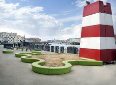 Out-sider vinder sag om designrettigheder Urban Furniture, Street Furniture, Sand Pit, Urban Design, Landscape Architecture, Playground, Recycling, Mansions, House Styles