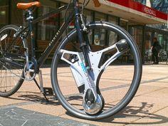 Колесо GeoOrbital Wheel превращает обычный велосипед в электрический GeoOrbital-Wheel