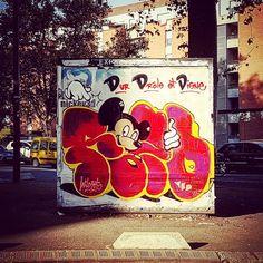 #Mickey3D version #Reso @resoner #MisterFreeze #ChasseAuxGouzoux de #Jace @jaceticot placette des Abattoirs #Toulouse  #MisterFreeze2016 @expomisterfreeze #expomisterfreeze #Toulouse #ByToulouse #visiteztoulouse #igerstoulouse #toulouse_focus_on #clic_toulouse  #streetarttoulouse #toulousestreetart #graffyourpinkcity #graff #mural #muralart #wallart #wall #instagraff #instagraffiti #graffitiart #graffitiwall #spraycan #spraycanart #streetarteverywhere #tmoua
