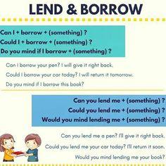 Forum | ________ Learn English | Fluent LandDifference between LEND vs BORROW | Fluent Land