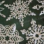 paper snowflakes tutorials