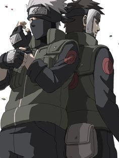 Yamato and Kakashi by kittoX1313.deviantart.com on @DeviantArt