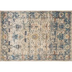 $989 FREE SHIPPING! Shop Wayfair for Loloi Rugs Anastasia Sand/Light Blue Area Rug - Great Deals on all Decor products with the best selection to choose from!