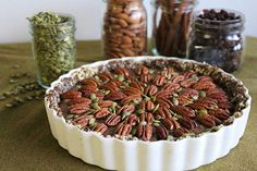 Celebrate Pecan Pie Day With This Healthy Raw Vegan Chia Caramel Pecan Pie (No Baking Required!) | One Green Planet