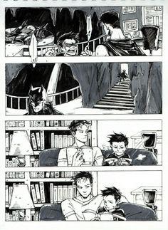 Jason Todd and Damian Wayne Nightwing, Batgirl, Batman Y Superman, Batman Robin, Damian Wayne, Tim Drake, Batfamily Funny, Red Hood Jason Todd, Couples Comics