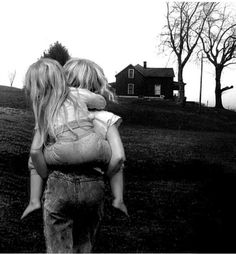 Sometimes we carry each other through the rough spots...