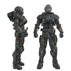 Body Armor and Exoskeletons