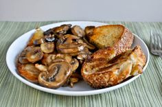caramelized-chicken-with-mushroom
