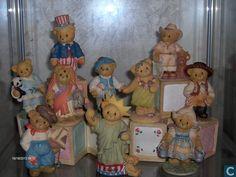 Statue/figurine - Cherished teddy,s landen - cherished teddy, s countries bears