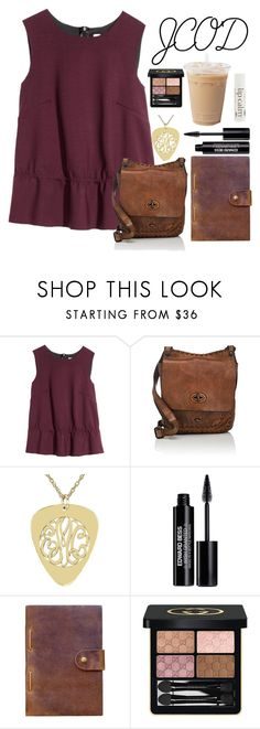 """""""JCOD"""" by lost-in-a-paper-town ❤ liked on Polyvore featuring H&M, Campomaggi, Edward Bess, Rear View Prints, Gucci and John Masters Organics"""