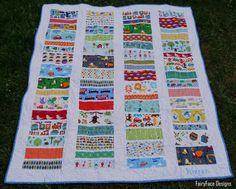 FairyFace Designs - cute boy quilt