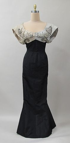 1952-1953 Evening Dress by Charles James.