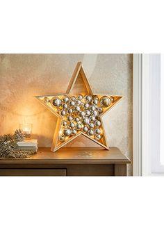 LED dekorace ''Hvězda s koulemi'' • 549.0 Kč • bonprix