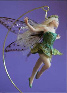 TINKERBELL-5-1-2-polymer-doll-press-mold-CD-instructions-by-Patricia-Rose