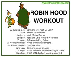 Turn on that DVD player and workout with these outlaws! Disney Movie Workouts, Tv Show Workouts, Disney Workout, One Song Workouts, Cheer Workouts, Workout Songs, Easy Workouts, Morning Workouts, Yoga For Kids