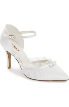ebb0ca3d19f Menbur  Marial  Pump (Women) available at  Nordstrom Ivory Shoes