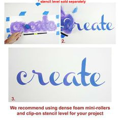 Create Wall Quote Stencil  See more Wall Quotes Stencils: http://www.cuttingedgestencils.com/wall-quotes-stencils-quotes-for-walls.html