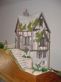 Merlin's Cave by Rik Pierce  Wonderful talented miniature builder.