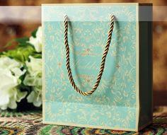 20 Pieces Multi-Paper blue Wedding Party Bags16051007