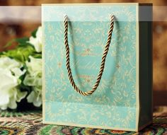 20 Pieces Multi-Paper blue Wedding Party Bags16051007