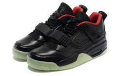 Uomo Nero Red Nike Air Yeezy 2 + Jordan 4 Sneaker Scarpe 15822