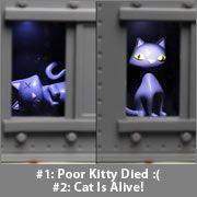 Schrodinger's Cat Decision Maker - MUCH better than the magic 8 ball $30