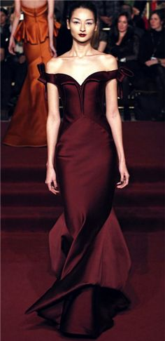 Stunning Zac Posen gown!