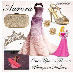 Disney Style: Aurora, created by trulygirlygirl Disney Outfits, Disneybound Outfits, Disney Character Outfits, Disney Princess Outfits, Character Inspired Outfits, Disney Dresses, Cute Outfits, Moda Disney, Disney Mode